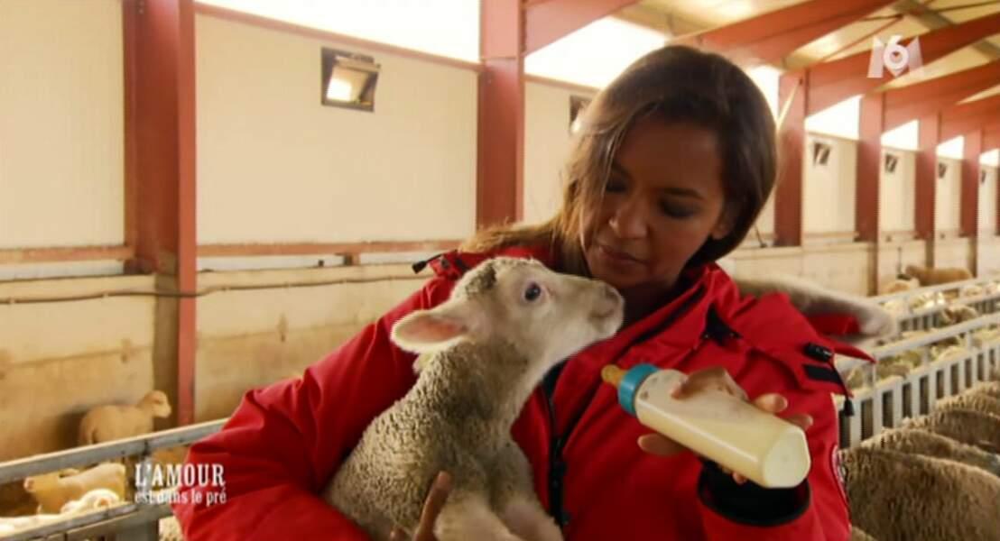 Et puis Karine son vrai truc, c'est s'occuper des animaux