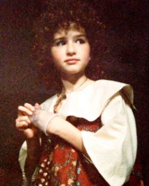 Et ça c'est Sarah Drew, alias April dans Grey's Anatomy, quand elle n'avait que 11 ans !