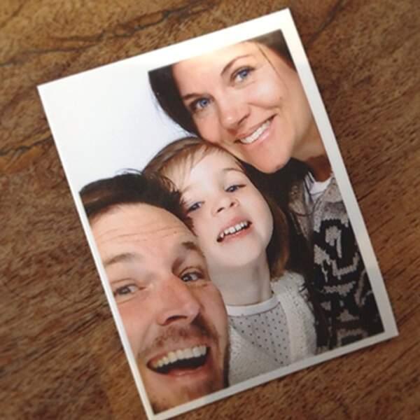La famille dans un photomaton : tellement mignon que c'en est presque agaçant
