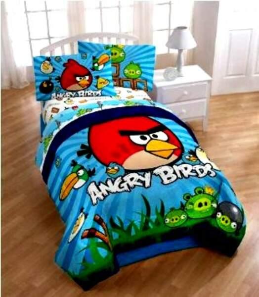 Linge de lit Angry Birds