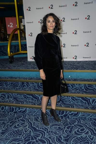 La comédienne Rachida Brakni