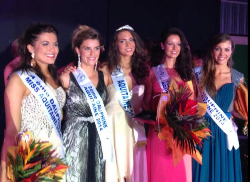 Miss Aquitaine 2014, Malaurie Eugènie