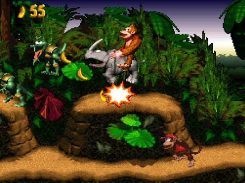 Donkey Kong Country - Super Nintendo (1994)