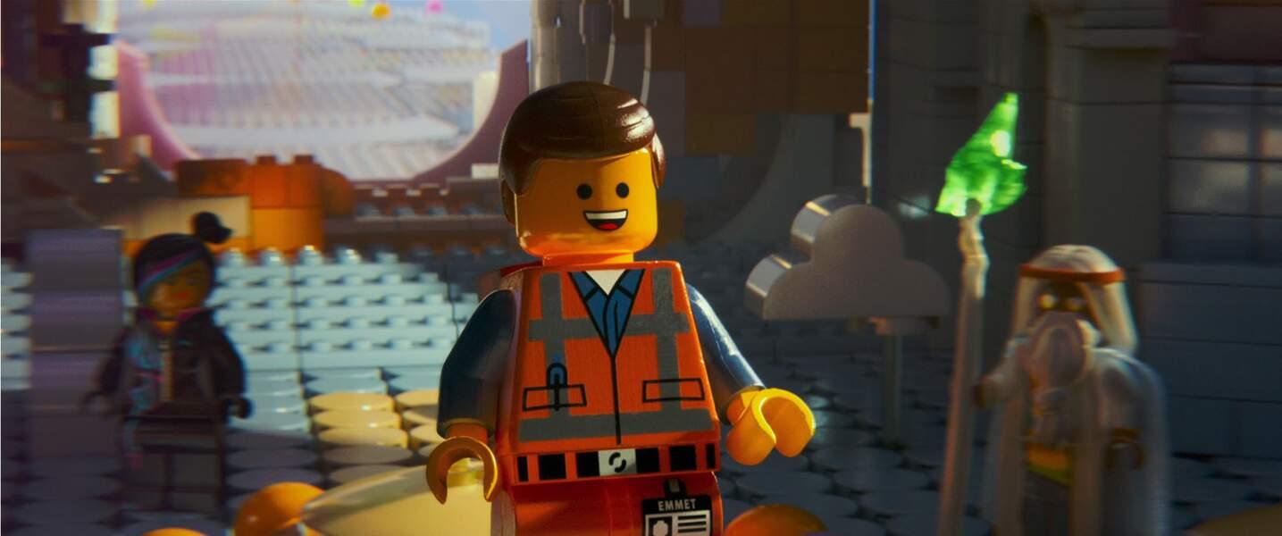 Emmet (Lego, la grande aventure) : Le plus banal des Lego et pourtant, c'est lui le héros !