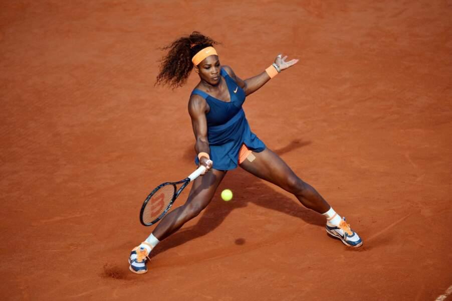 et l'Américaine, numéro 1 mondiale, Serena Williams.