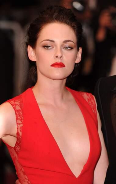 Attention ! Kristen commence à voir rouge