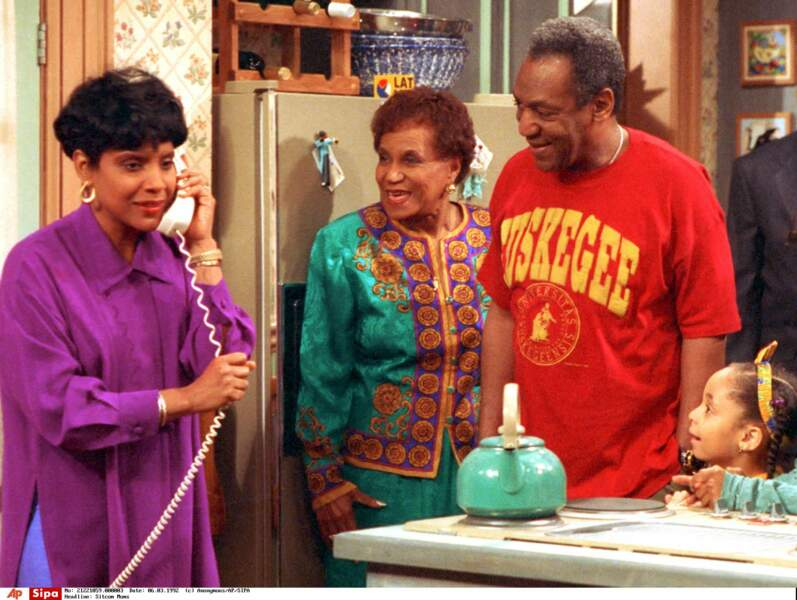 Voici Anna Huxtable, la grand-mère du Cosby Show