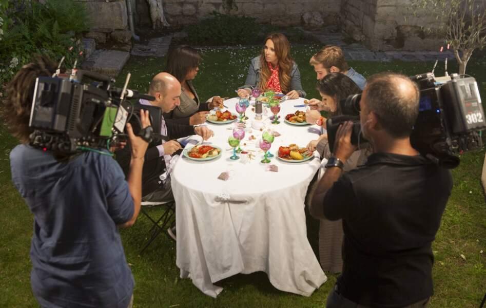 Le dîner d'Hélène Ségara