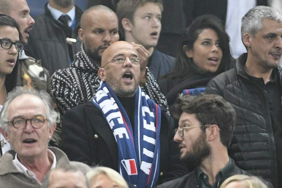 C'était aussi le cas de Pascal Obispo, grand fan de football