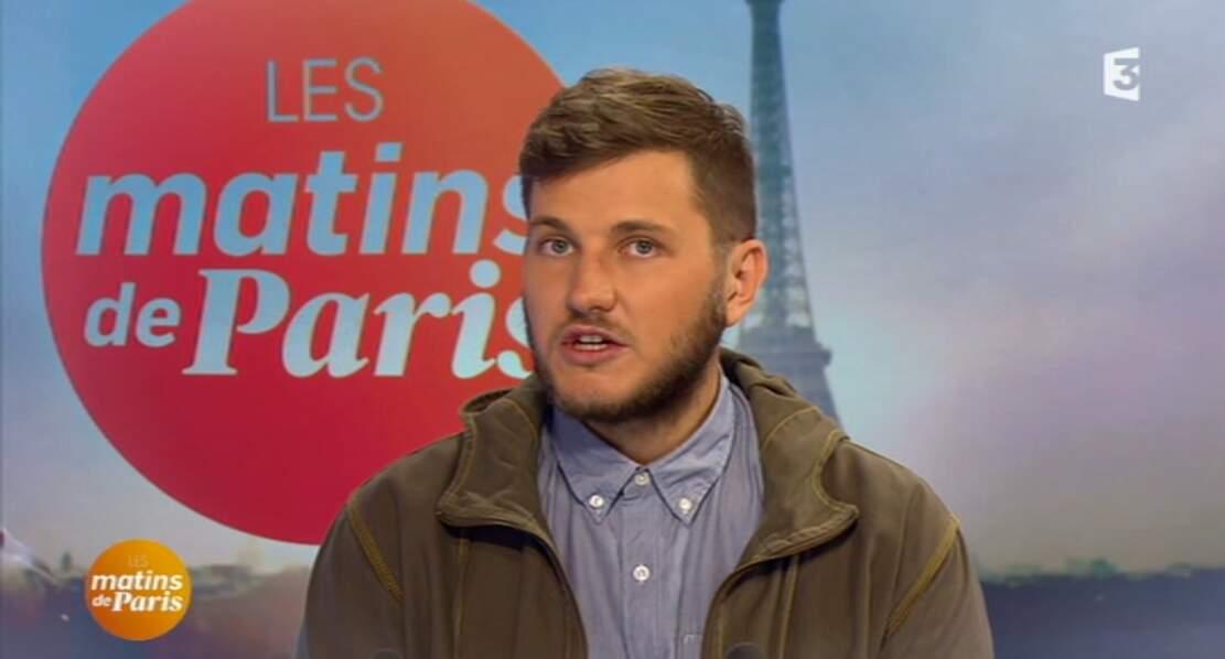... ni comme ce journaliste qui est venu sur le plateau des Matins de Paris en blouson. Carrément !