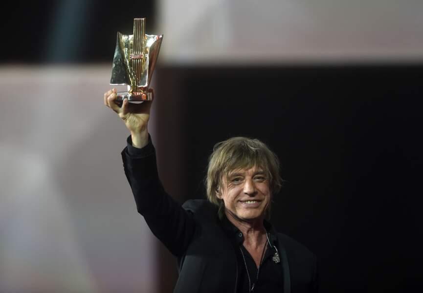 Jean-Louis Aubert a reçu la Victoire des 30 ans de rock