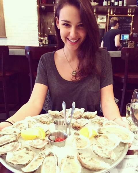 Les huîtres, ça fait pas grossir, de toute façon