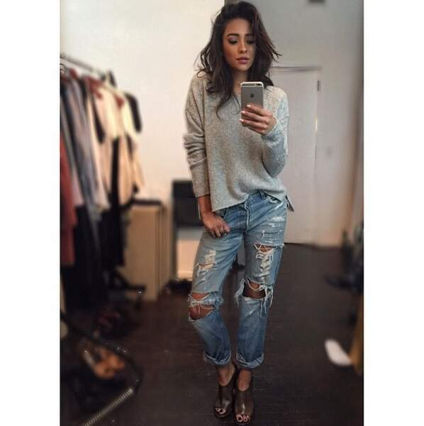 On adore le style de Shay Mitchell !