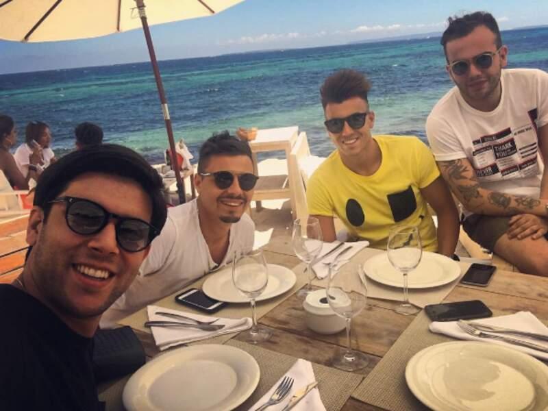 Stephan El Shaarawy ne jure que par la plage avec les copains