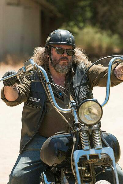 Mark Boone Junior a incarné Bobby Elvis tout au long de la série...
