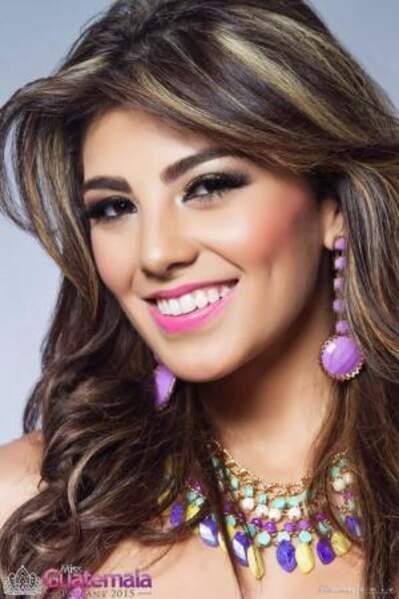 Voici Miss Guatemala, María José Larranaga Retolaza