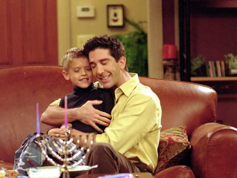 Et là, le voilà en Ben, le fils de Ross dans Friends