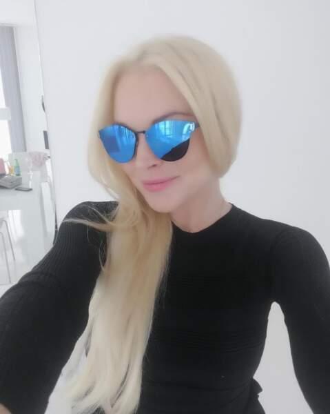 Et pof ! Lindsay Lohan est passé du côté blond platine de la force.