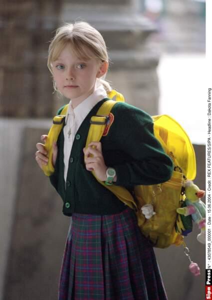 À 10 ans, Dakota Fanning jouait dans le film Man on fire
