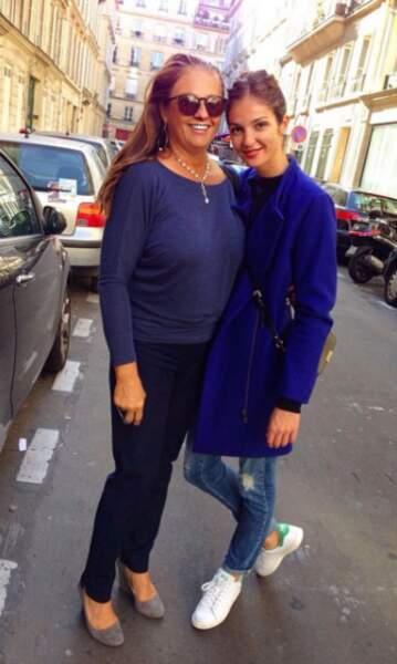Sa mère c'est Florence, la deuxième fille de Belmondo