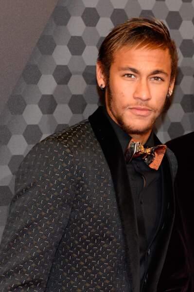 Neymar beau gosse et mature lors de la remise du Ballon d'or 2013