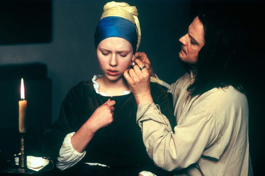 Méconnaissable en muse du célèbre peintre Johannes Vermeer dans La jeune fille à la perle