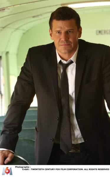 David Boreanaz jouait l'agent spécial du FBI Seeley Booth