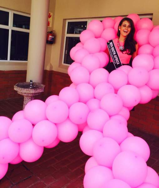 Rolene Strauss est très active dans la lutte contre le cancer du sein