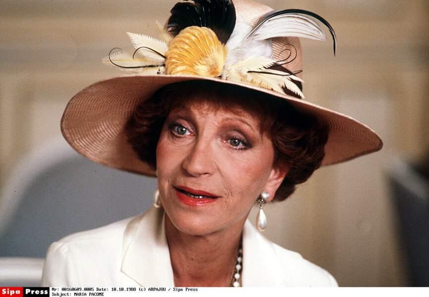 Maria Pacôme est décédée ce samedi 1er décembre à l'âge de 95 ans