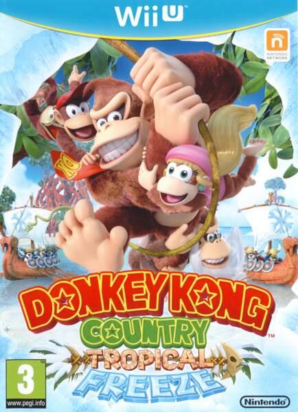 Donkey Kong Country : Tropical Freeze - Wii U (2014)