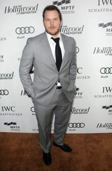 Souvenez-vous du comédien Chris Pratt en 2012...