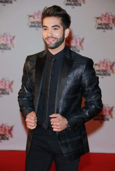 Kendji Girac aux NRJ Music Awards 2015