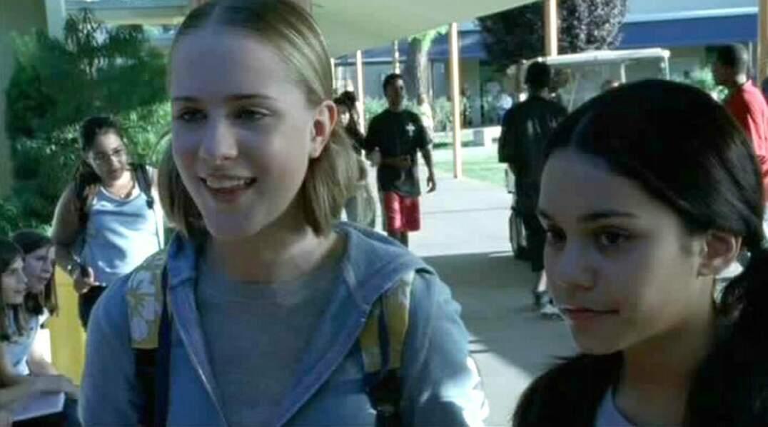 La douce Vanessa a débuté au ciné en 2003 dans le très trash et choquant Thirteen avec Evan Rachel Wood.