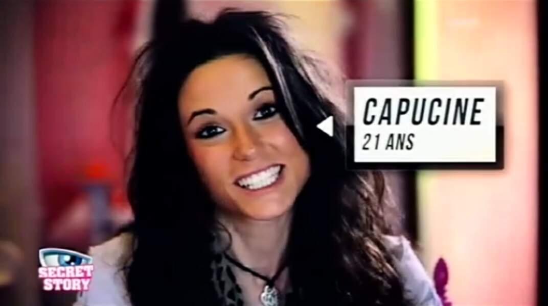 """Capucine (Saison 6). Son secret : """"Mes deux ex' sont dans la maison"""" (avec Alexandre et Yoann)"""