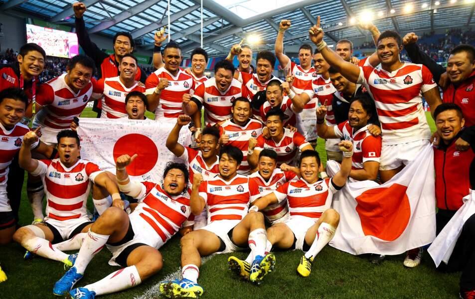 19 septembre, Le Japon renverse l'Afrique du sud en ouverture du Mondial. Une surprise incroyable !