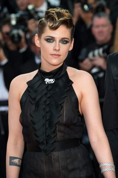 Regard profond pour Kristen Stewart