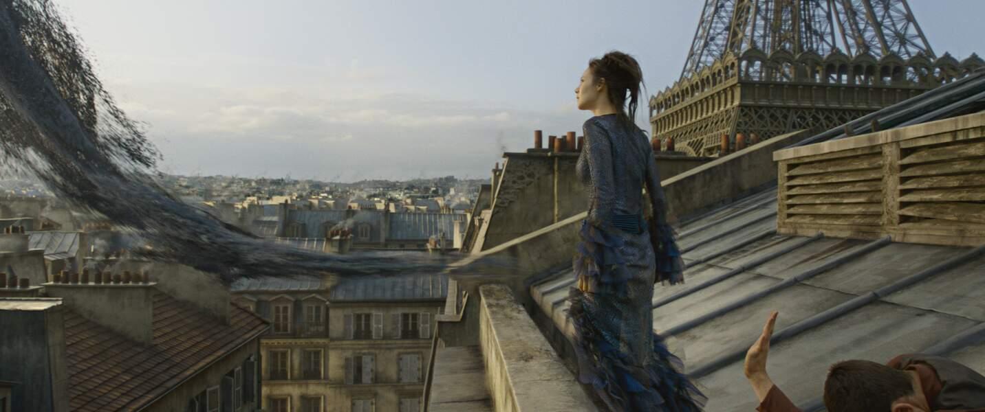 ...et les toits de Paris