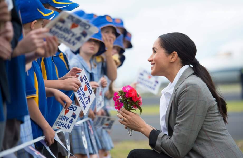 Meghan Markle à la rencontre des enfants de la ville de Dubbo