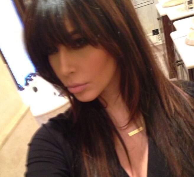 Kim s'est fait greffer un rideau sur le front
