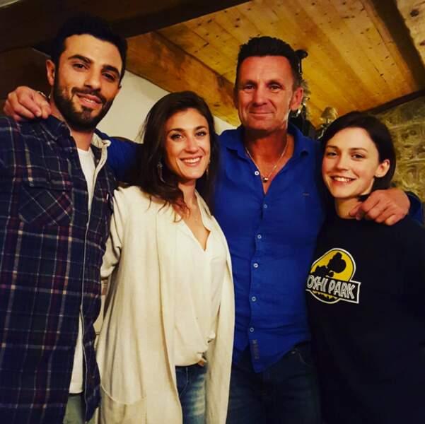 Romain, Laureen, Wendy et Pascal
