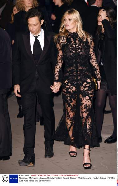 Kate Moss and Jamie Hince, un couple très sexy