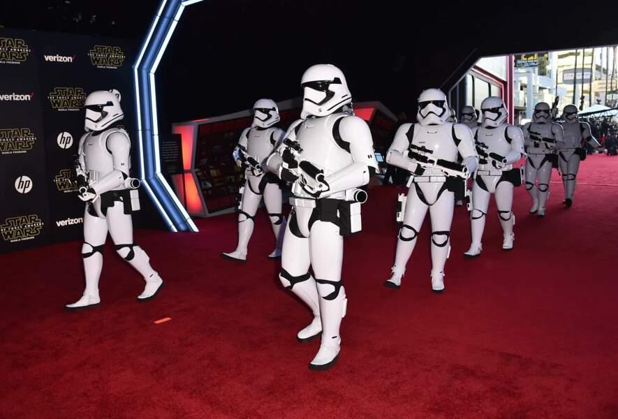Les Stormtroopers ont ouvert la voie vers le Chinese Theatre