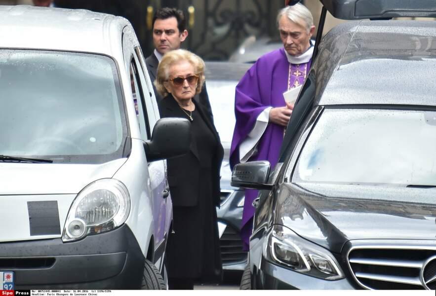 Avril 2016, Bernadette assiste aux obsèques de sa fille aînée Laurence… sa bataille