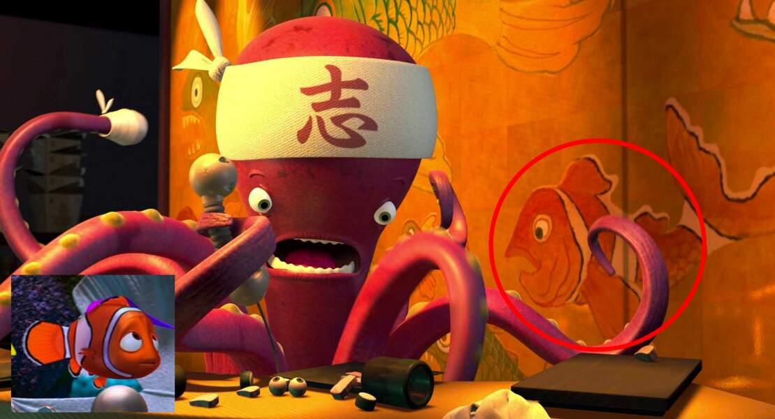 Monstres & Cie : Nemo se cache dans le restaurant de sushi...