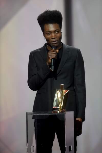 Benjamin Clementine a reçu le prix de la Révélation Scène de l'année