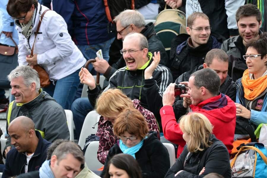Enfin, cette année à Roland-Garros, on a vu des gens heureux...
