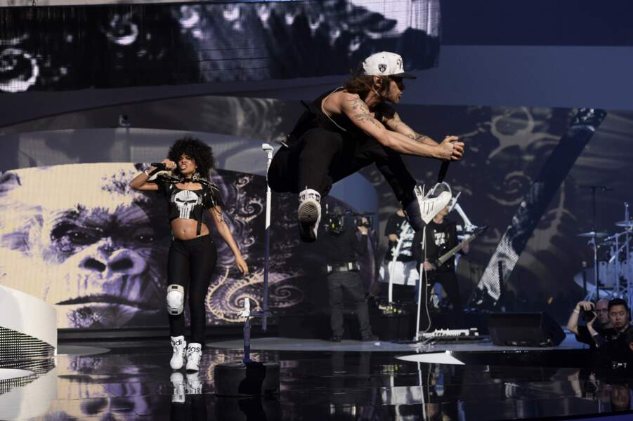 Shaka Ponk a électrisé la scène des Victoires de la musique