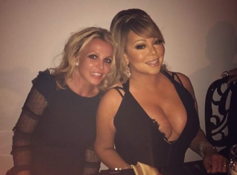 Aussi classe que Britney Spears et Mariah Carey ensemble au resto.