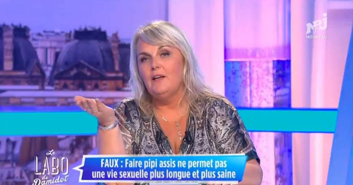 Valérie Damidot a sorti son top en python