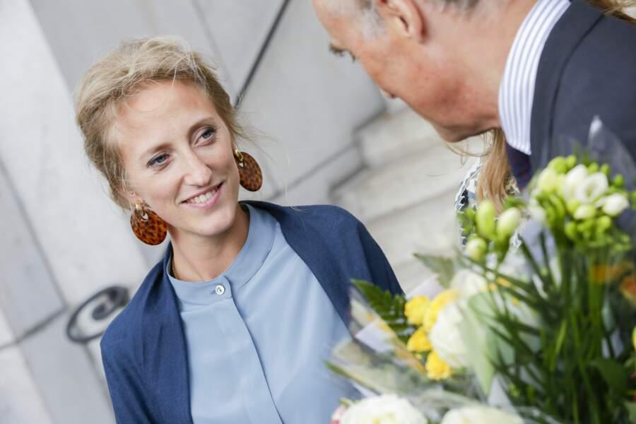 Maria Laura de Belgique (30 ans), fille de l'archiduc Lorenz d'Autriche-Este et de la princesse Astrid de Belgique